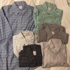 Men's Brooks Brothers button down shirts.